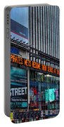 approaching Times Square Portable Battery Charger