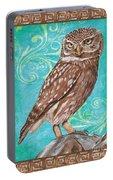 Aqua Barn Owl Portable Battery Charger