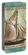 Aqua Maritime 2 Portable Battery Charger by Debbie DeWitt