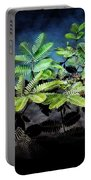 Aquatic Leaves Portable Battery Charger