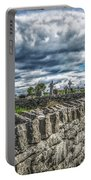 Aran Island Cemetary Ireland Portable Battery Charger