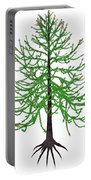 Araucaria Prehistoric Tree Portable Battery Charger
