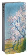 Arbes En Fleurs A L'entree De Cailhavel Portable Battery Charger