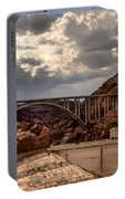 Arch Bridge And Hoover Dam Portable Battery Charger