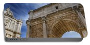 Arch Of Septimius Severus Portable Battery Charger