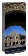 Arch To Memorial Church Stanford California Portable Battery Charger