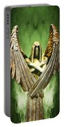 Archangel Azrael Portable Battery Charger by Bill Tiepelman