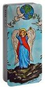 Archangel Gabriel Portable Battery Charger