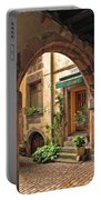 Arched Doorway In Kayserberg Portable Battery Charger