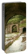 Arched Entrance To Fiesole Theatre Portable Battery Charger