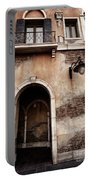 Arched Passage In Old Rustic Venetian House Portable Battery Charger
