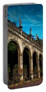 Arches And Statues Portable Battery Charger