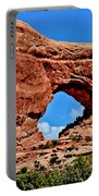 Arches National Park Painting Portable Battery Charger