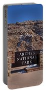 Arches National Park Utah Portable Battery Charger