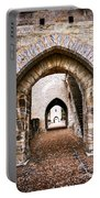 Arches Of Valentre Bridge In Cahors France Portable Battery Charger