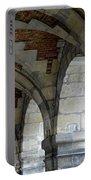 Architectural Artwork At Place De Vosges Portable Battery Charger