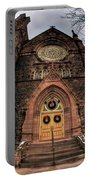 Architecture And Places In The Q.c. Series 01 Trinity Episcopal Church Portable Battery Charger