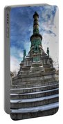 Architecture And Places In The Q.c. Series  Soldiers And Sailors Monument In Lafayette Square Portable Battery Charger