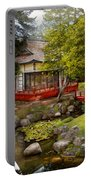 Architecture - Japan - Tranquil Moments  Portable Battery Charger
