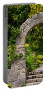 Archway To The Secret Garden Portable Battery Charger
