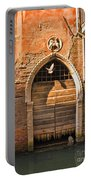 Archway With Bird In Venice Portable Battery Charger