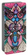Arcturian Healing Lattice  Portable Battery Charger