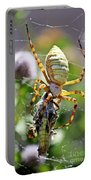 Argiope Spider And Grasshopper Vertical Portable Battery Charger