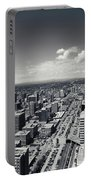 Arial View Of Calgary Facing West Portable Battery Charger