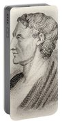 Aristotle From Crabbes Historical Dictionary Portable Battery Charger