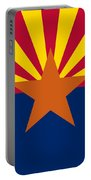 Arizona State Flag Authentic Color And Scale Version Portable Battery Charger
