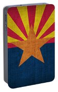 Arizona State Flag Portable Battery Charger