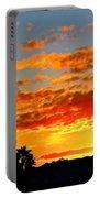 Beautiful Arizona Sunset Portable Battery Charger