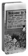 Arizona Tombstone, 1937 Portable Battery Charger