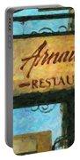 Arnauds New Orleans_oil Digital Art Portable Battery Charger
