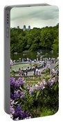 Around Bethesda Fountain Portable Battery Charger
