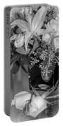 Arrangement In Black And White  Portable Battery Charger