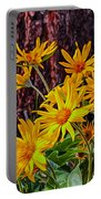 Arrowleaf Balsamroot Portable Battery Charger