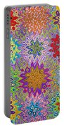 Art Abstract Background 13 Portable Battery Charger