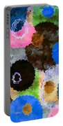 Art Abstract Background 19 Portable Battery Charger