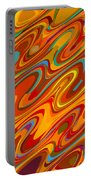 Art Abstract Geometric Pattern 26 Portable Battery Charger