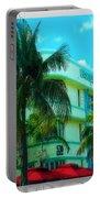Art Deco Barbizon Hotel Miami Beach Portable Battery Charger