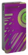 Art Deco Explosion 6 Portable Battery Charger