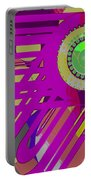 Art Deco Explosion 7 Portable Battery Charger
