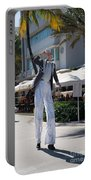 Art Deco Festival Street Scenes Portable Battery Charger