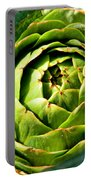 Art E. Choke - Artichokes By Diana Sainz Portable Battery Charger
