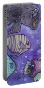 Fish Art Portable Battery Charger