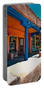 Art Gallery In Taos Portable Battery Charger
