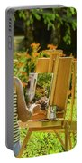 Art In The Garden Portable Battery Charger