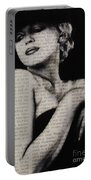 Art In The News 13-marilyn Portable Battery Charger