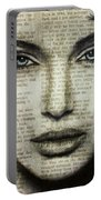 Art In The News 44- Angelina Jolie Portable Battery Charger